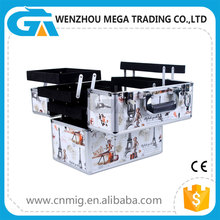 Aluminum Tool Box with PVC Surface/ Train Cases