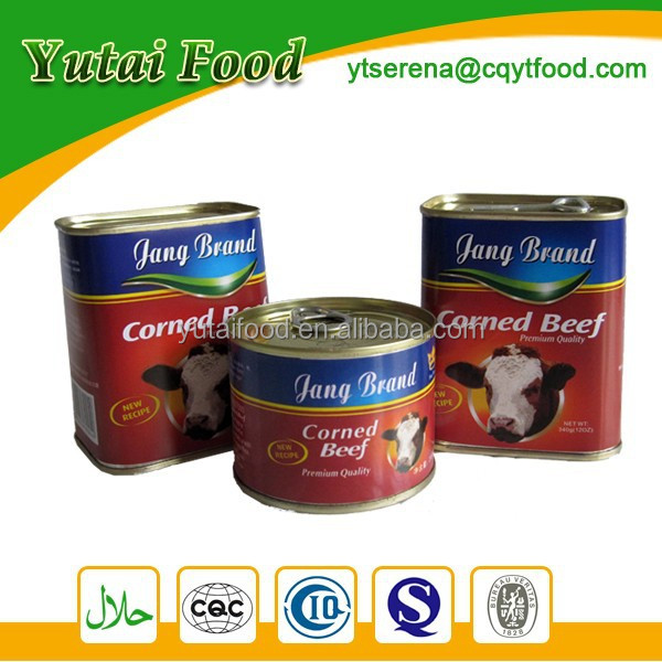 Canned Corned Beef Good Taste Ready to Eat Food
