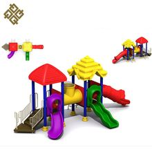Newest Selling Attractive Style Lldpe Soft Coated Plastic Children Curved Slide Playground Slides