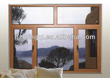 Aluminum composite open outwards window