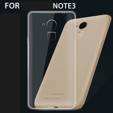 Transparent TPU Cover for Cool great god NOTE3 Clear Pudding Soft Gel Case for Coolpad Big God note 3