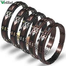 Wollet 2017 Hot Sale High-quality Multi-faceted Black And Wine Red Ceramic Bracelet