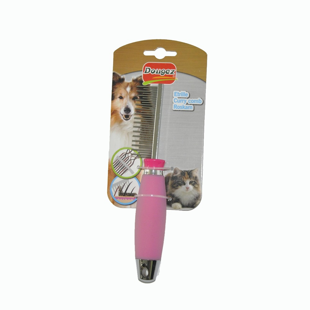 Hot Sale Professional factory supply Luxury comfortable pet grooming brush comb with 2 hours replied