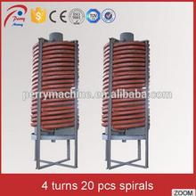 Gravity Spiral Separating Chrome Ore Recovery Machine