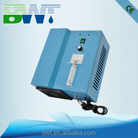 Hot and cold water reverse osmosis water purifier by cooling air system
