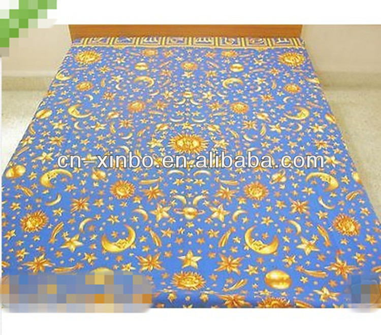 SUN MOON Print Indian polyester Bedspread Bed Sheet Queen Sofa Throw Beach Blanket