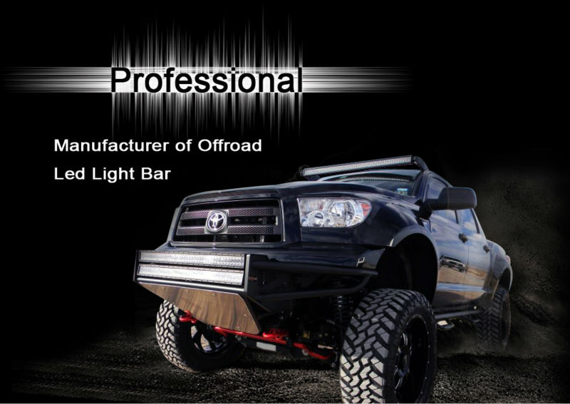 20'' IP69K Aurora ATV Truck Car Offroad Accessories led flood light bar
