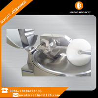 High efficiency advanced industrial meat bowl cutter/small electric bowl cutter for meat and vegetable 008613028676303