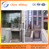 1m-6m vertical stairlift/hydraulic lifts/disabled people screw lift mechanism