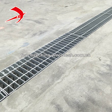 0.3x1m drain grate, ditch cover, drainage trench cover steel grating
