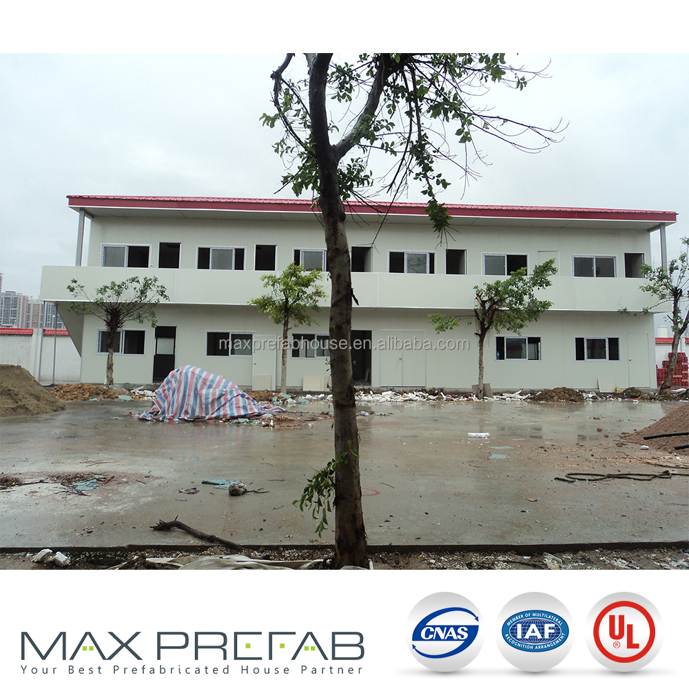 germany Pre-painted light-steel SHS frame prefabricated house for sale