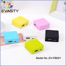 (Private) mold new arrival high level mobile power bank mobile phone emergency portable charger with gift crystal box