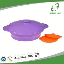 Reasonable & acceptable price factory directly silicone food warmer lunch box