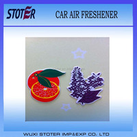 Custom die cut car air fresheners