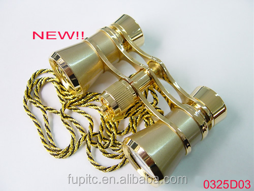 New and high quality 3 x 25 Opera Binocular With chain