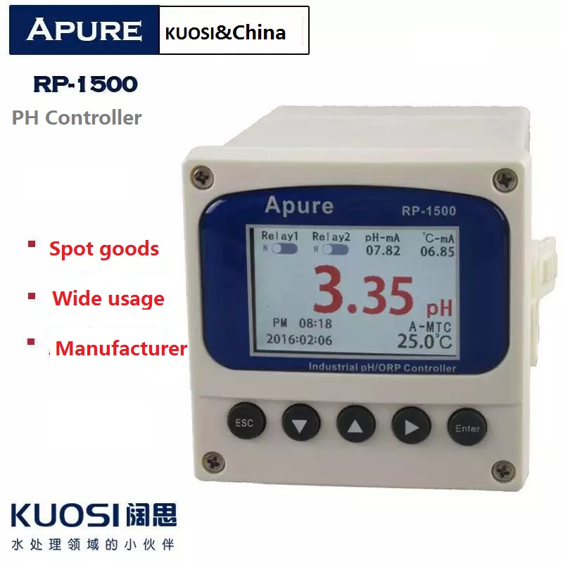 Waterproof low price ATC digital PH ORP EC Controller meter
