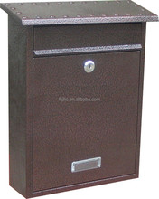 JHC-2085 Metal Locking Door Wall Mounted Mailbox/Residential Letter boxes