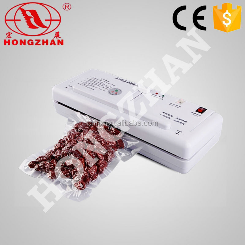 Hongzhan DZ280A type food vacuum packing machine with box of bag, portable and small vacuum packer for home or shop