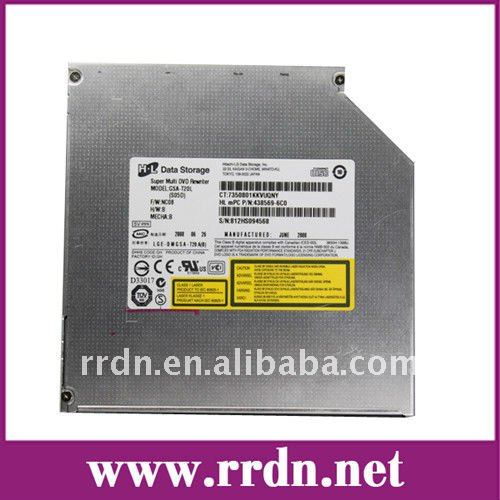 DVD+/-RW 8X DVD Burner Dual Layer GSA-T20L LightScribe Slim drive Can replace TS-L632N