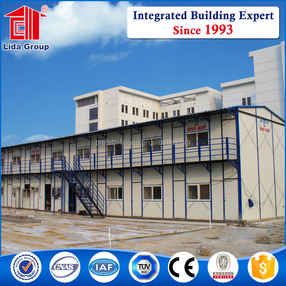 New design steel sandwich panel prefabricated house with high quality