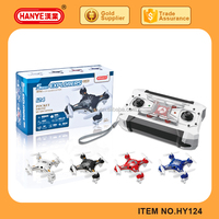 Remove Control Toy Mini 4CH Quadcopter Pocket Drone with LED Toys for Kid