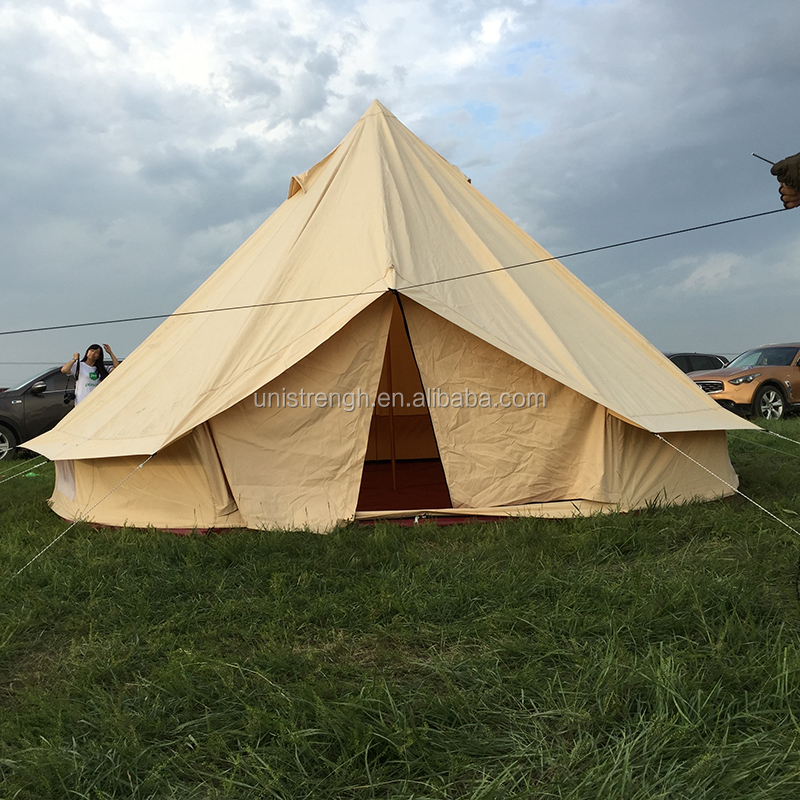 Waterproof cotton Canvas Funeral Bell Tent For Sale
