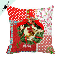 Christmas Decor Wholesale Pillow Covers Custom Design luxury Cushion Cover For Office Chair