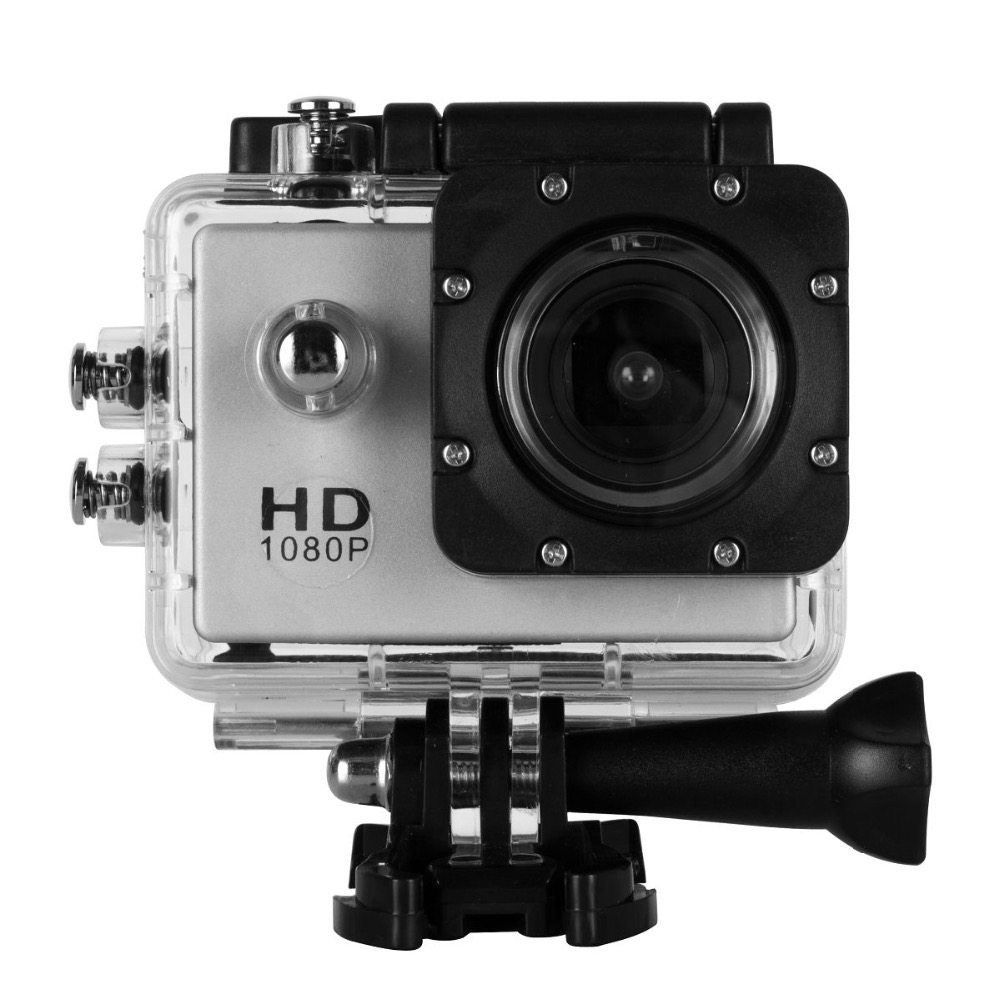 "1080P mini 2""inch sports camera 30M waterproof action camera outdoor sport dv"