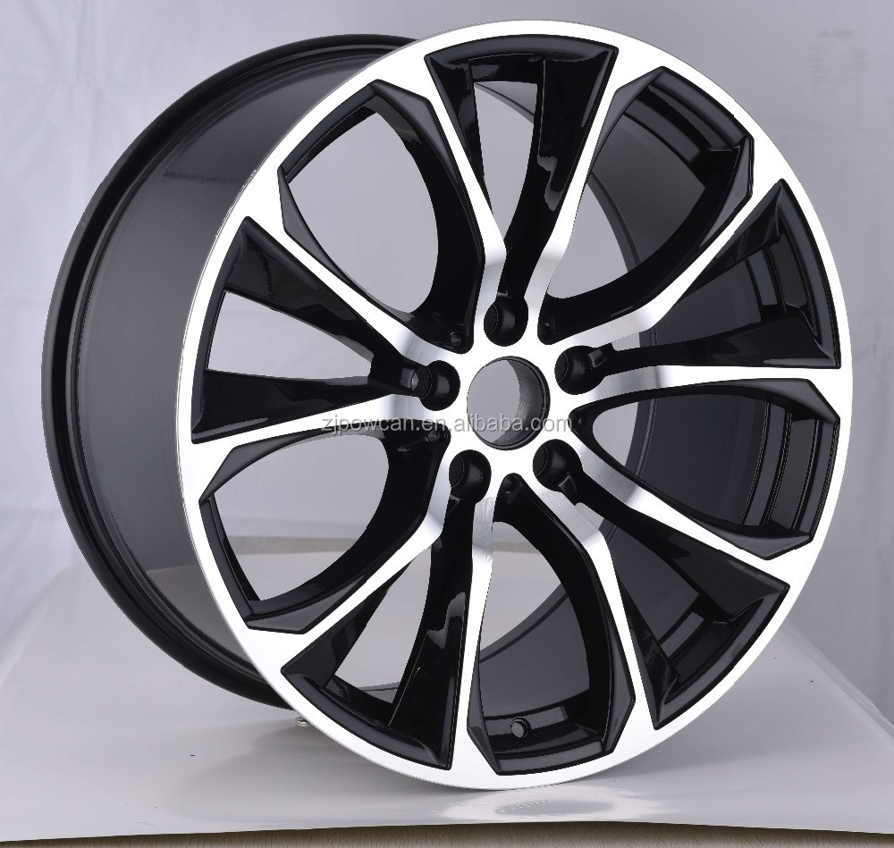 HOT cheap car wheels aluminum rims for Bm alloy car rims fit for 20 inch car wheels 5/120 with POWCAN and Baokang produce