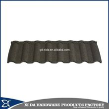 Lightweight metal shingle roofing roma type metal roof tile