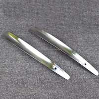44.5cm stainless shoe horn long shoe horn for man metal shoe horn high quality shoe horn