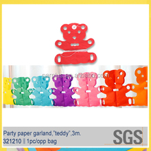 Wholesale colorful baby shower decorations garland