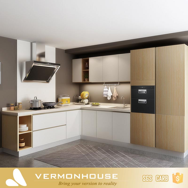 2017 Best Sale Vermont Plywood Australia Modular Kitchen Designs For Small Kitchens