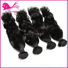 Eayon Best Selling Product Cheap Virgin Peruvian Ponytail Natural Human Hair Weft