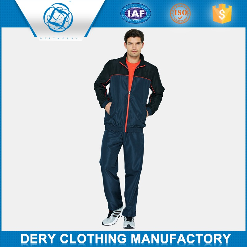 Professional men wool tracksuit in moisture fabric