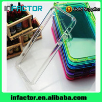 OEM/ODM Crystal Transparent TPU mobile phone cover case for iPhone 5 5c 5s