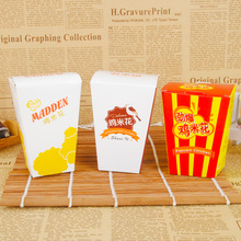 Best seller foldable packaging box for fried chicken popcorn