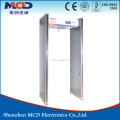 6 zone Detection Zone Security Walk Through Metal Detector/ used metal detectors prices with waterproof function