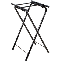 "Weljia Table & Seating 31"" Folding Black Metal Tray Stand"