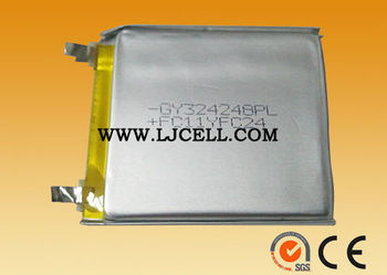 3.7v 580mAh 324248 Li-polymer rechargeable Battery