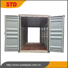 Customized 20 feet two ends door open shipping container