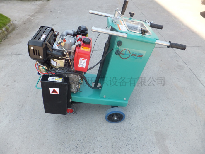 Chinese road cutter machine walk behind concrete saw