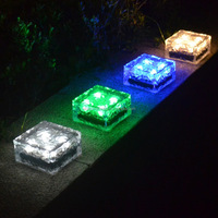 Solar Ice Rocks garden solar lights solar landscape light LED ground light