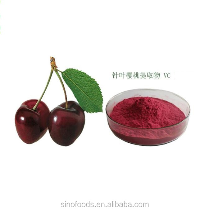 Zhen Ye Ying Tao bulk 100% nature Acerola Cherry powder 32%vc