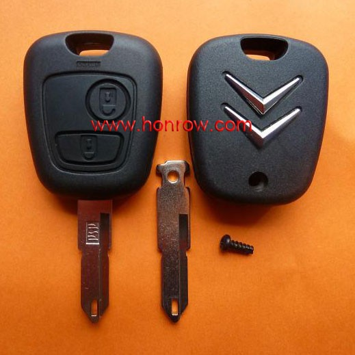 citroen c5 remote key Citroen 2 button 206 remote key 433Mhz ID46 Chip