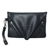 Fashion ladies good quality PU leather clutch small envelope handbag evening bags