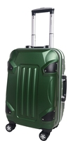 New Lightweight luggage set 4 airplane wheels ABS+PC Material hard luggage