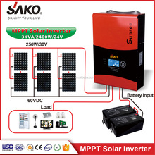 Lowest price 5VA48V hybrid solar inverter with build-in mppt charge controller