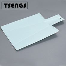 Cutting boards thin Clear flexible folding plastic kitchen mats