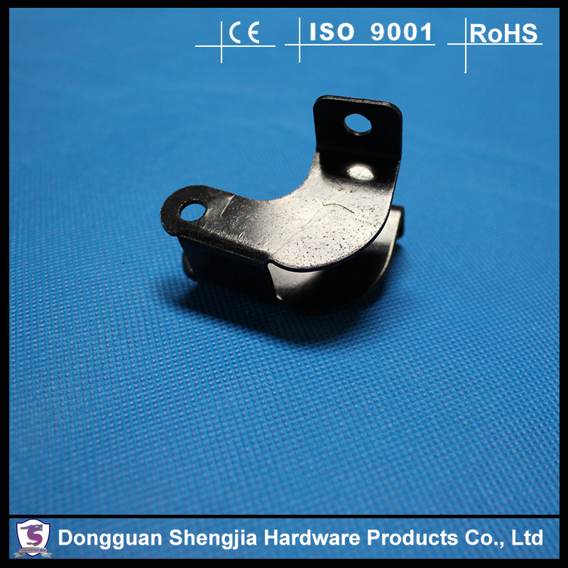 Electrical Round Metal Flat Spring Steel Belt Clips
